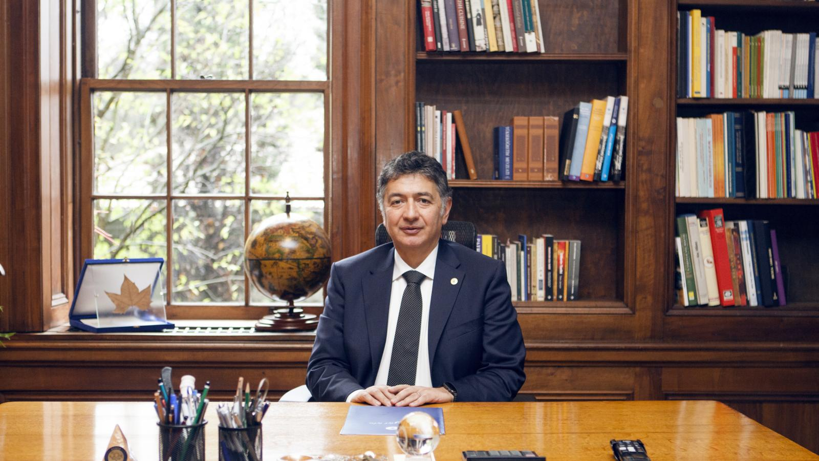 Professor Mehmed Özkan Starts His Term as President of Bogazici University
